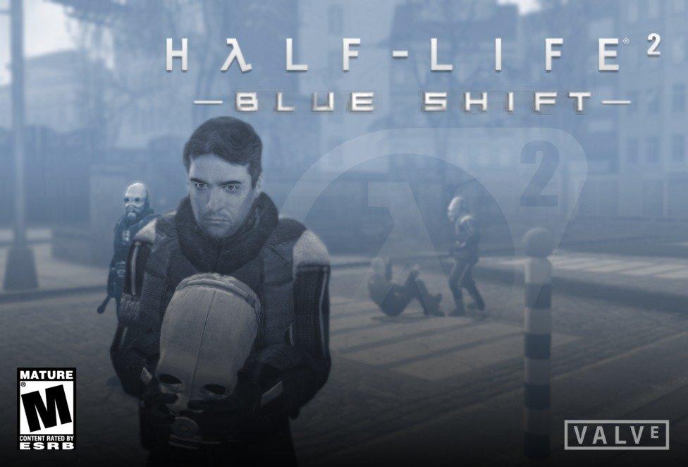 Barney Calhoun Blue Shift