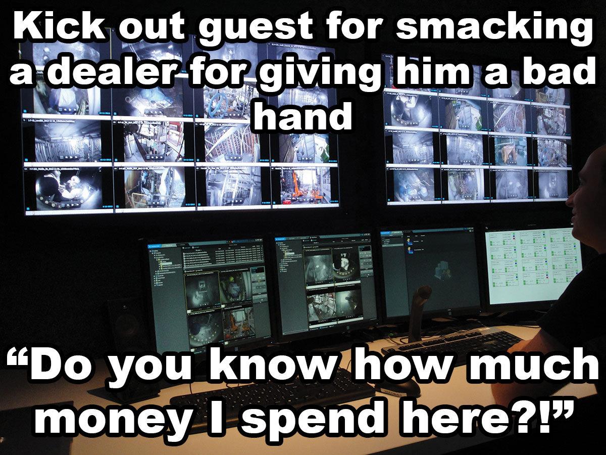 Casino Surveillance Stories