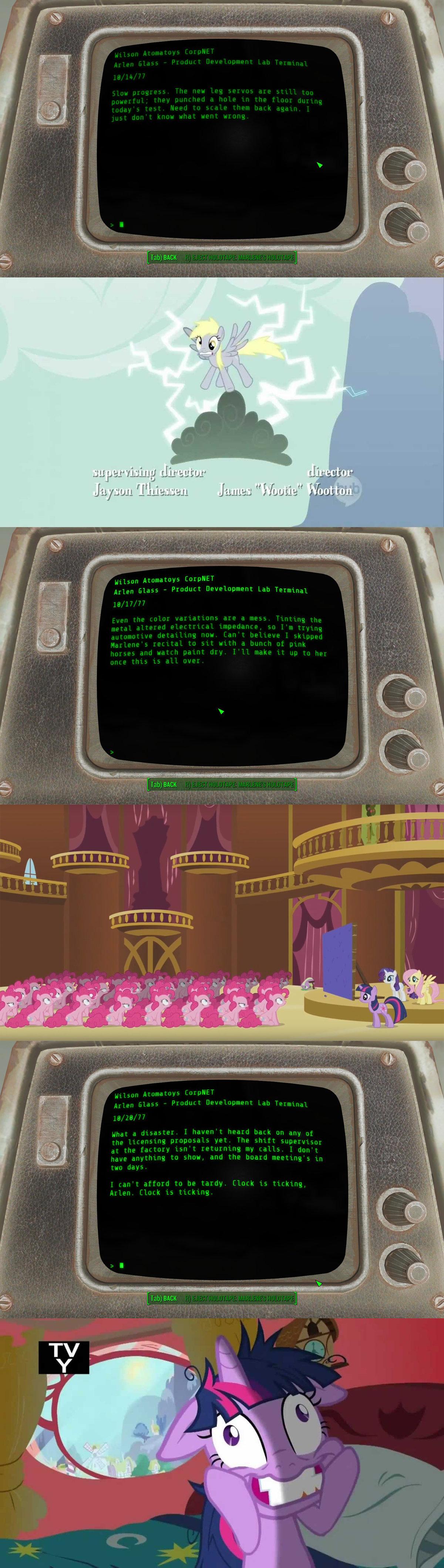 fallout pony references