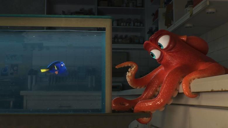 finding dory, ellen degeneres, ed o'neill, hank, pixar