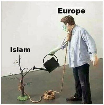 Αποτέλεσμα εικόνας για islam  europe