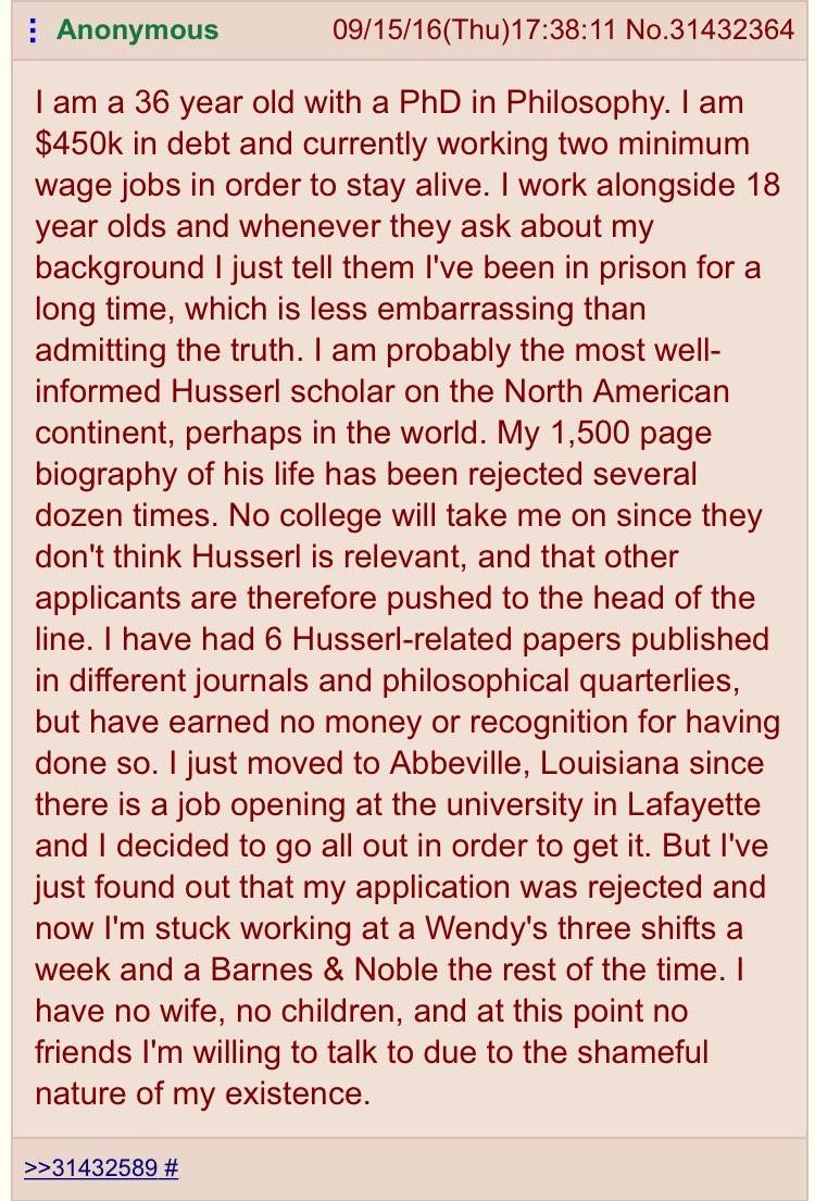 philosophy degree