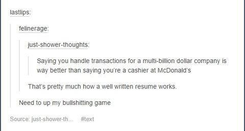 smart resume tip - Resume Tip