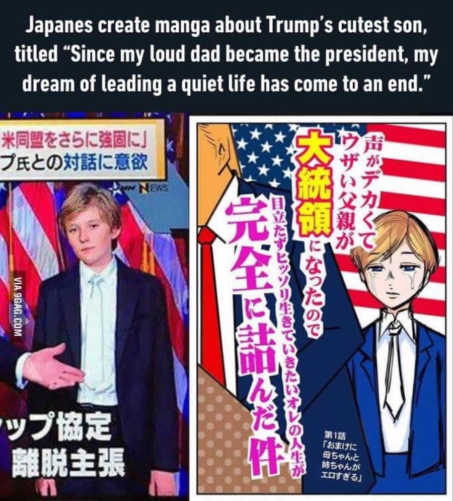 foto de Trump will make anime real