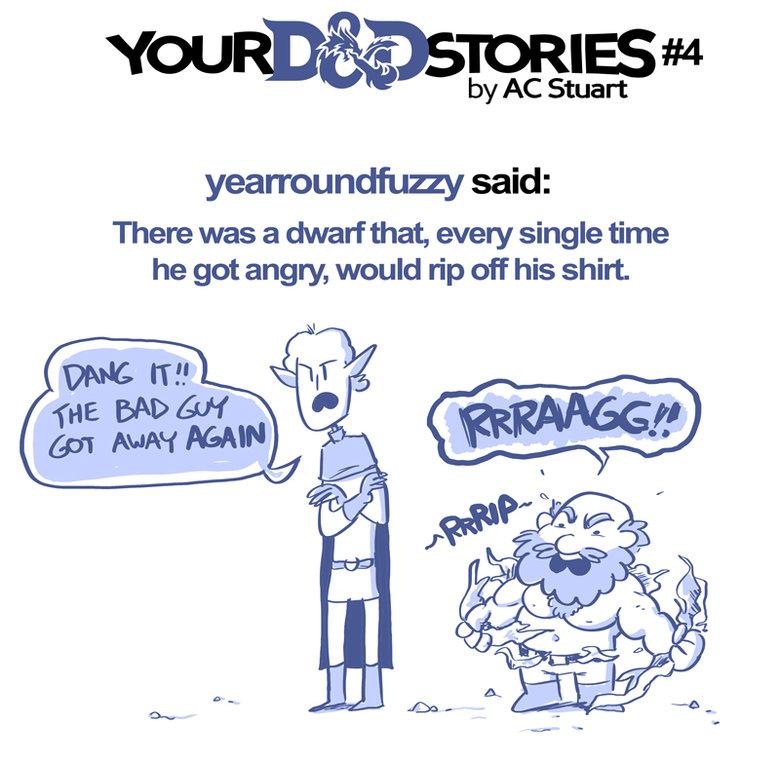 Your D&D Stories 4-6