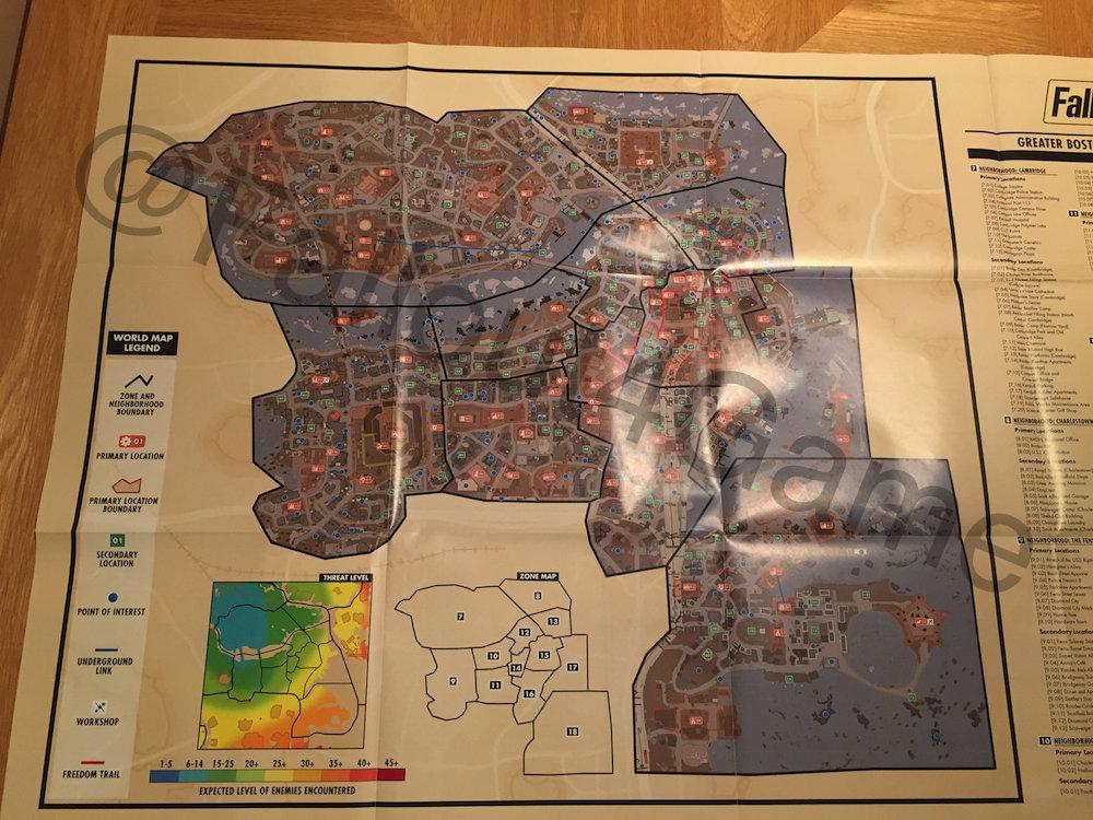 Fallout 4 Full Size Map Fallout 4