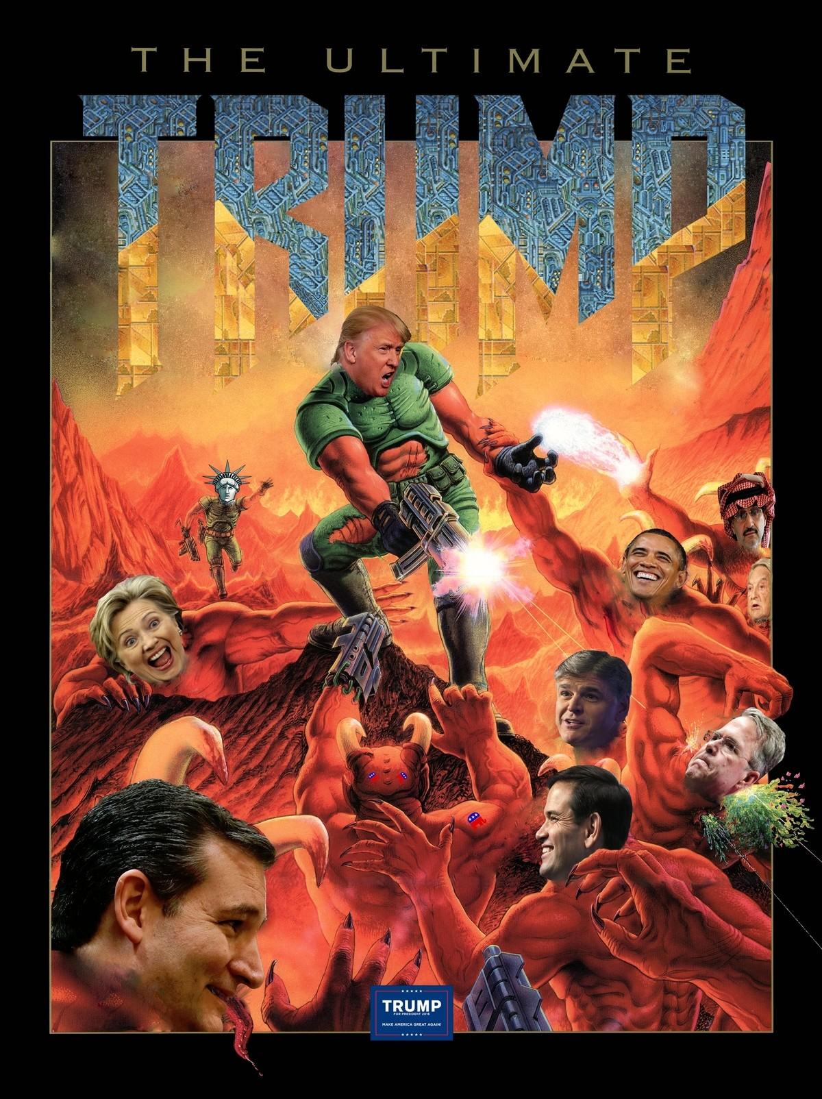 Wallpaper Trump