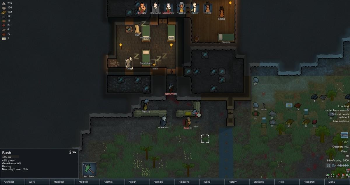 Funnyjunks Rimworld survival, pt 3