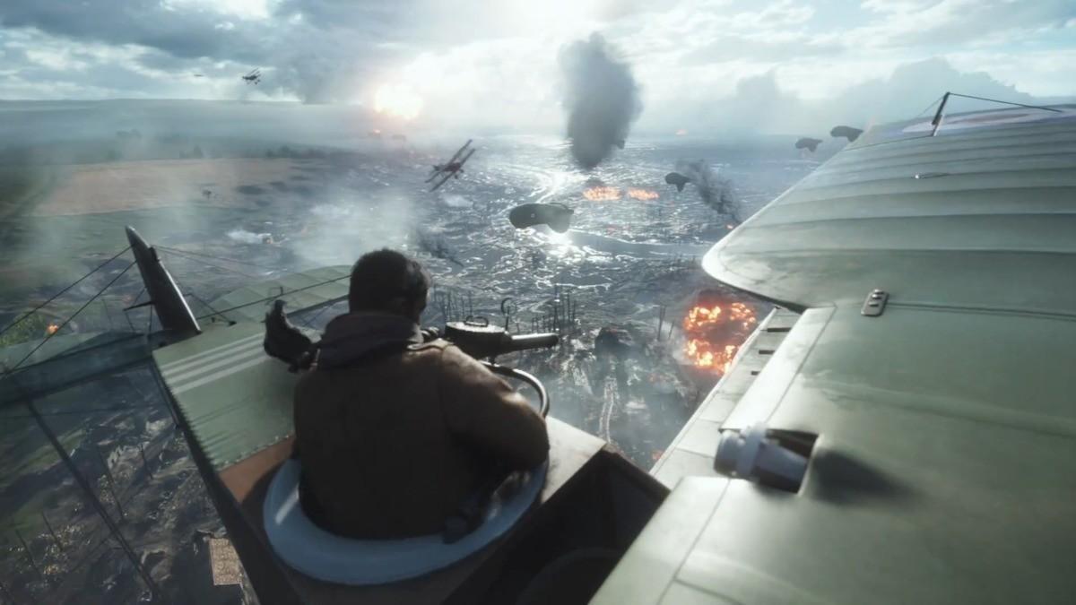 my favorite screenshot from the battlefield 1 trailer