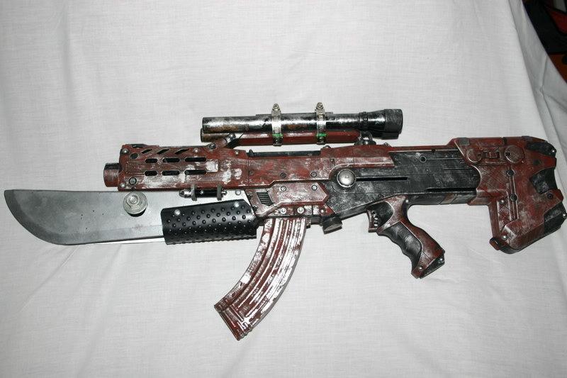 Just some cool custom nerf guns.
