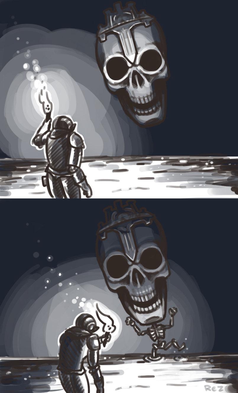 Dark Souls 3 Boss Concept Art Leaked