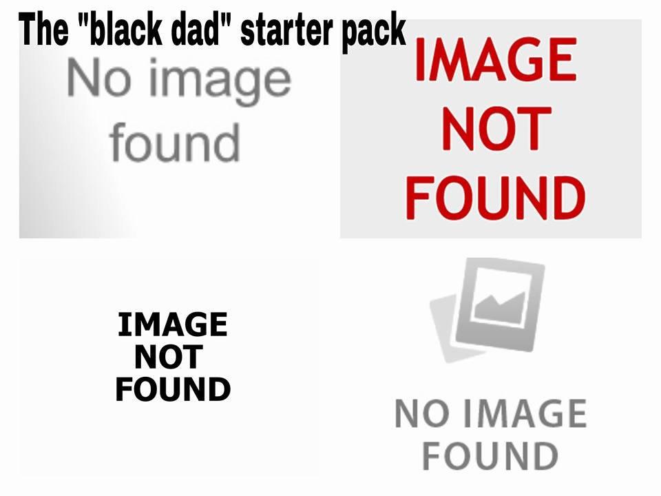 Black Dad Starter Pack