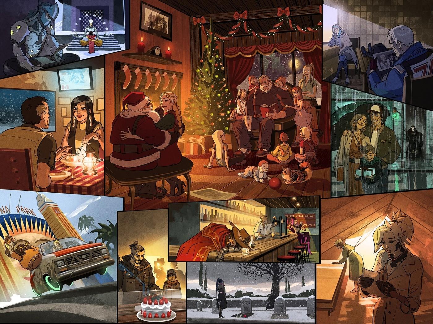 Overwatch Christmas.Overwatch Christmas Time