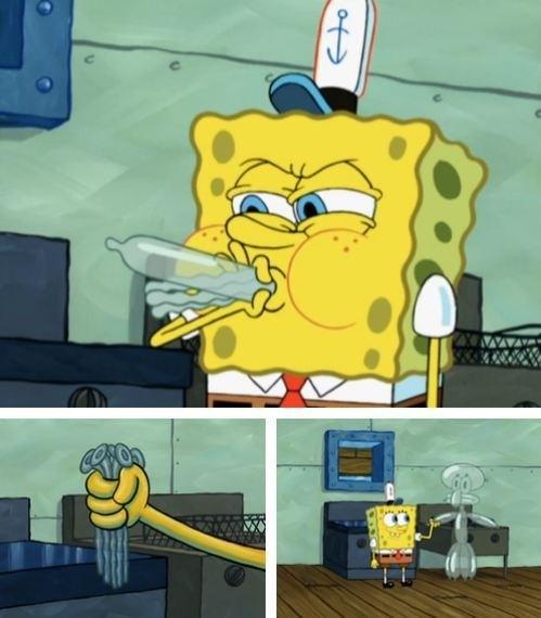 Sexual jokes in spongebob