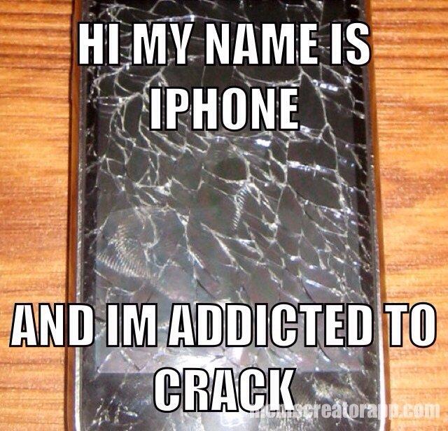 Addicted To Crack