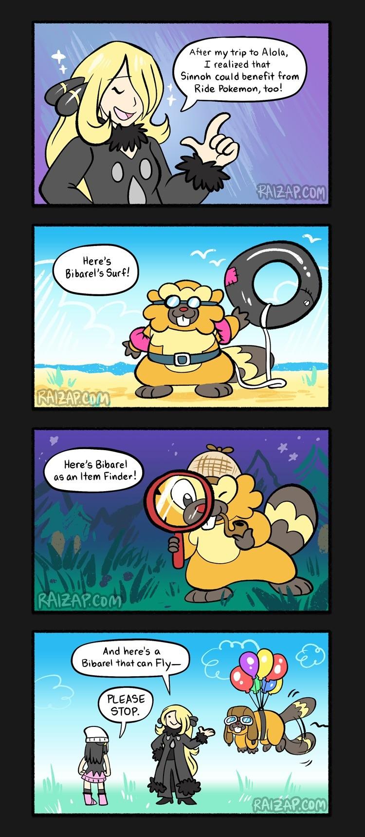 how to register ride pokemon
