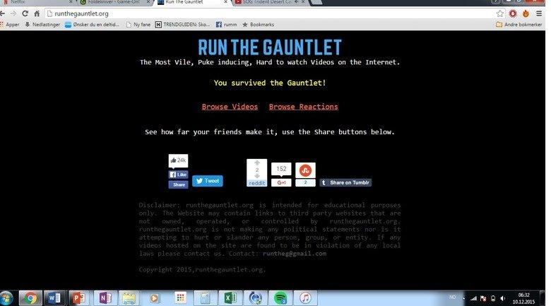the gauntlet videos