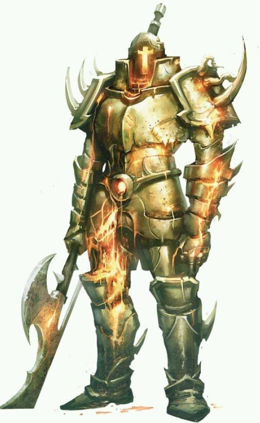 Character Art Season 2 Warforged Golems