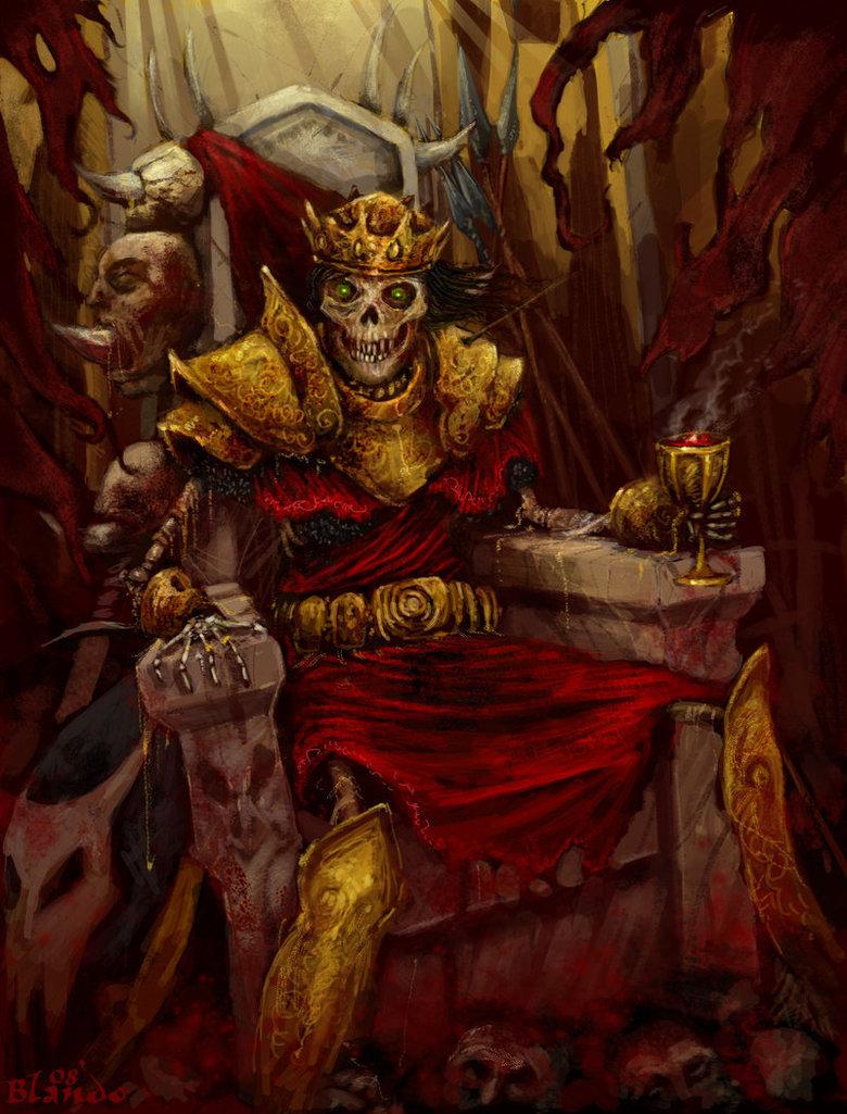 Король скелет картинки