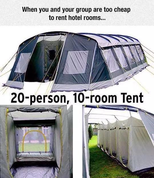 & Cool Tent