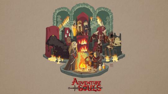 Adventure Souls by ValhallaBound on DeviantArt |Dank Souls Adventure Time