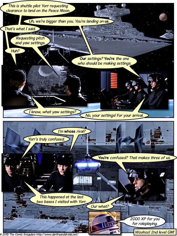 Darth And Droids Comic Darths And Droids Episode Vi Part I funnyjunk