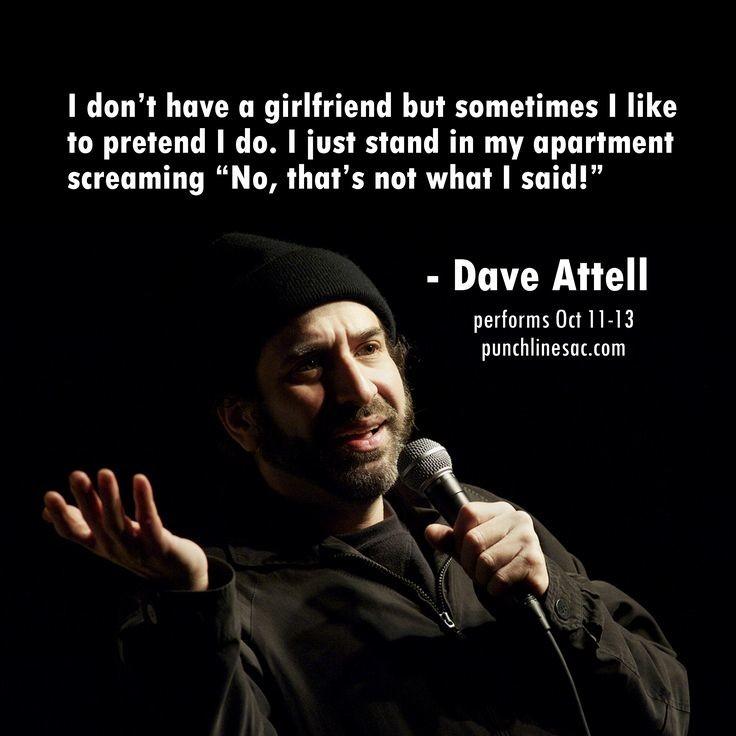 That interrupt Dave attell midget