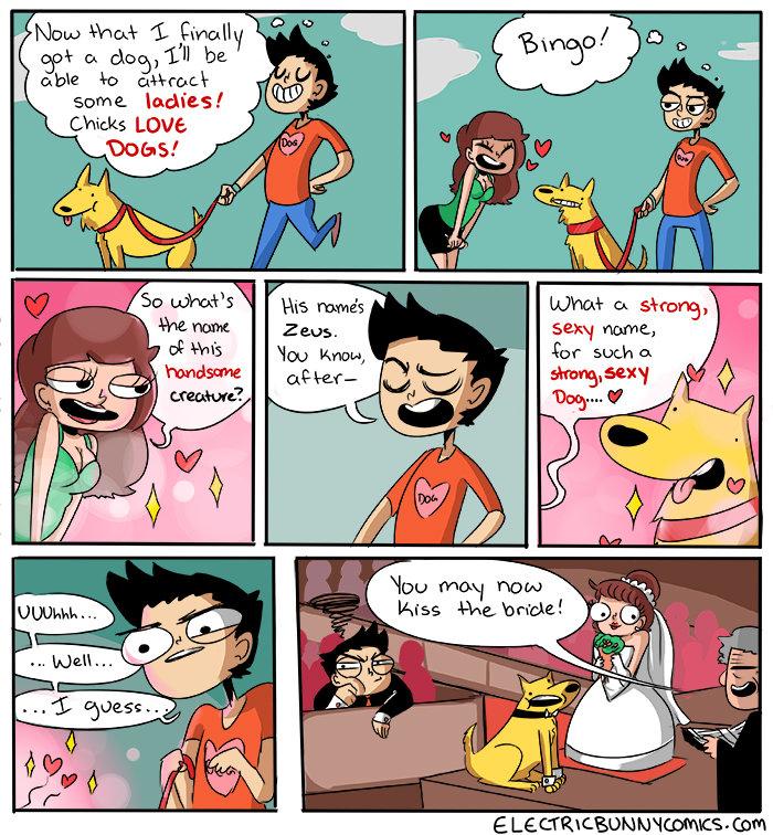 dating comics funny