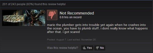 Funny Steam Reviews Comp 5