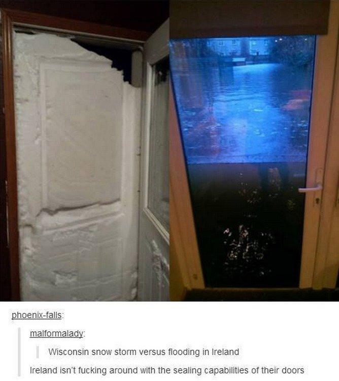 & Irish Doors