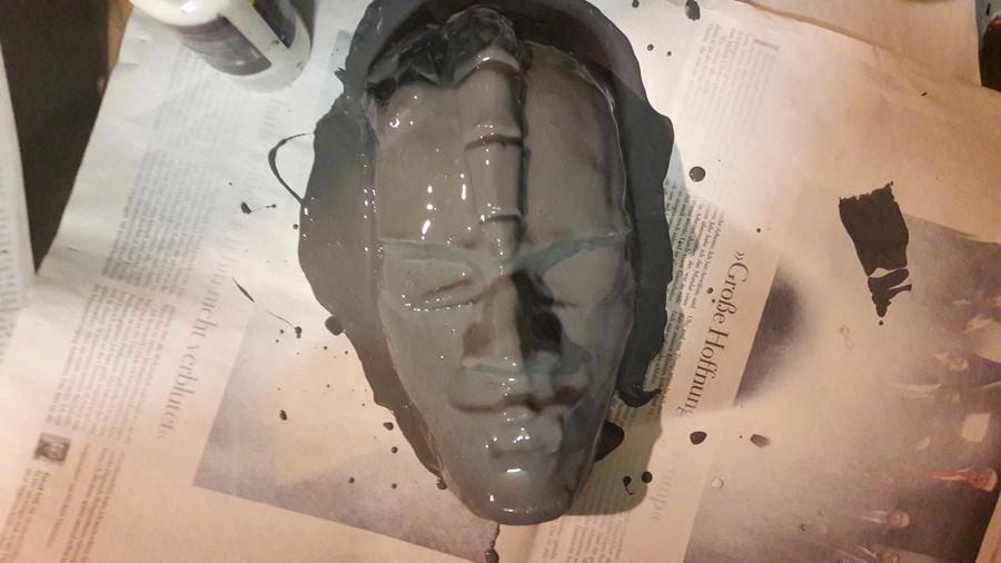JoJo Stone Mask Tutorial