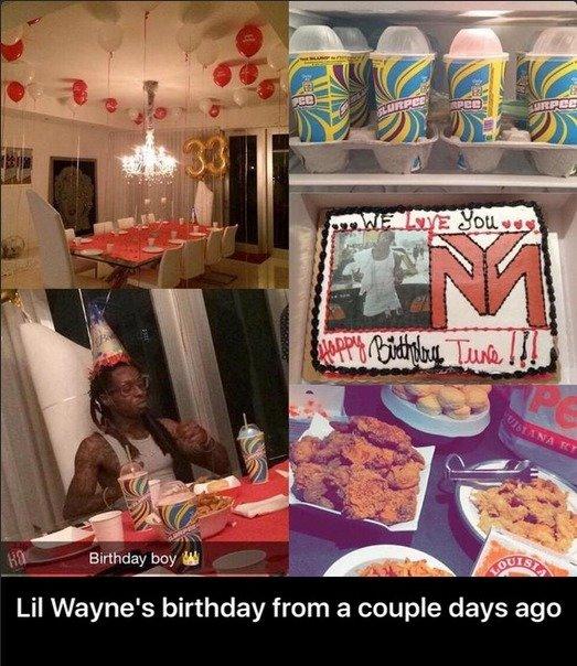 Pleasant Lil Waynes Bday Personalised Birthday Cards Petedlily Jamesorg