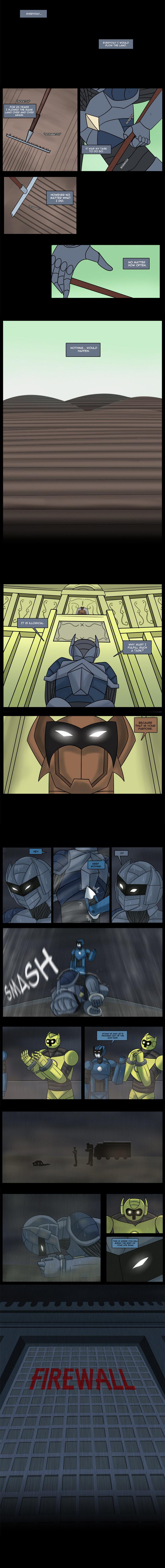 Line Webtoon Sci-fi: Error - I'm alive