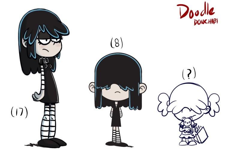 lucy loud doodles
