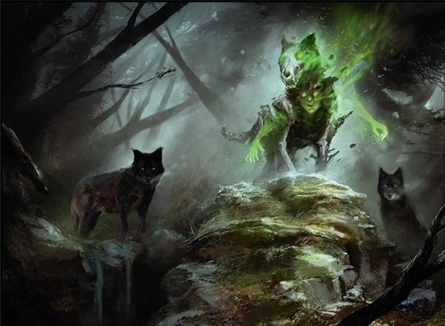 Magic The Gathering Art Vol 20 Spirits