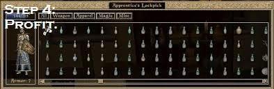 Morrowind Alchemy hack