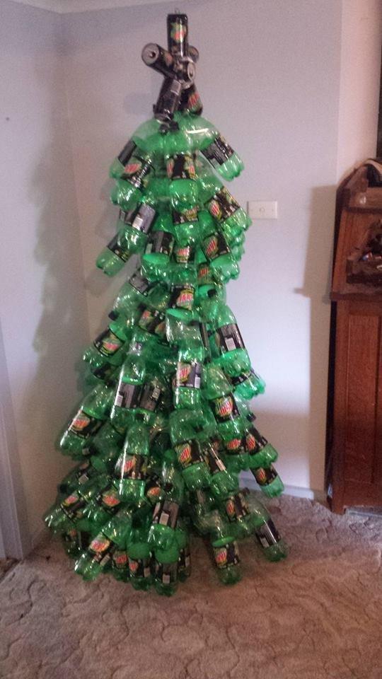 - My Mountain Dew Christmas Tree