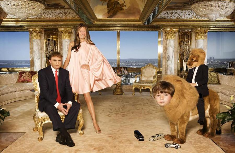 New+trump+family+portrait_d36721_6096774 new trump family portrait,Trump Family Meme