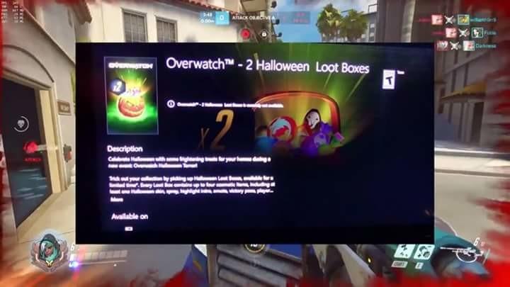 Overwatch Halloween LootBoxes?