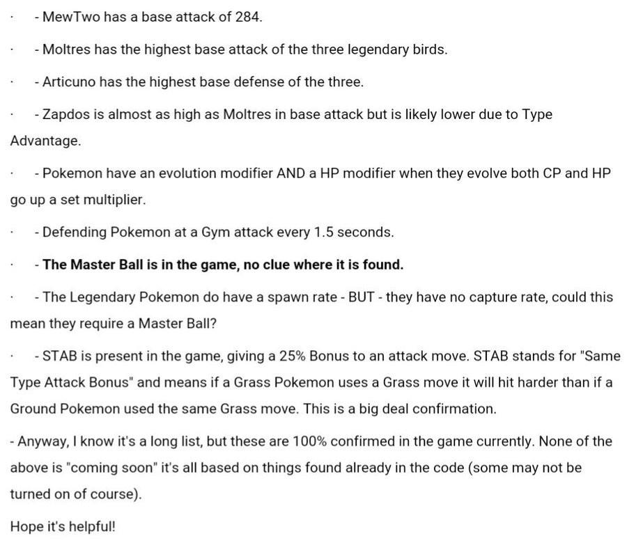 pokemon go has been datamined