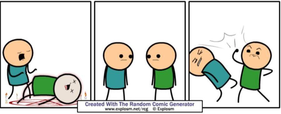 Random Comic Generator Comp