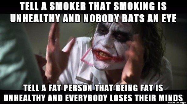 Smoking > Fat