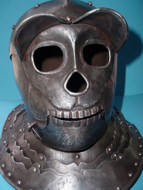 Strange Medieval Helmets And Armors
