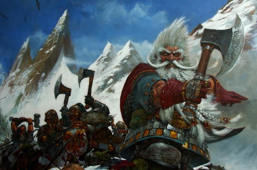Warhammer Art Compilation Adrian Smith