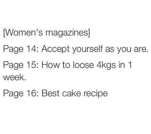 Výsledek obrázku pro women magazine page 14