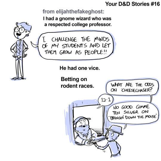 Your D&D Stories 16-18
